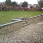 Garden works Garden walls to patio areas, we can help you design your ideal garden.